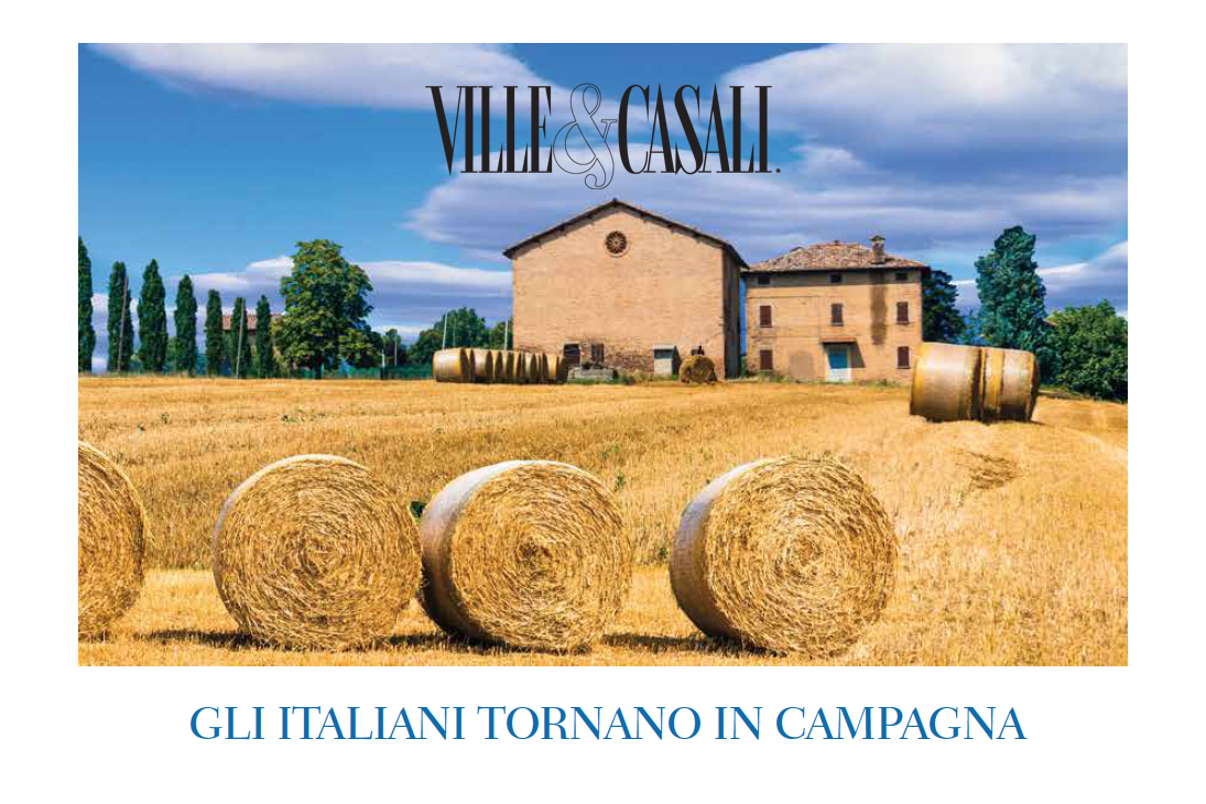 Ville&Casali interviews the CEO of Great Estate: Italians are coming back to the countryside