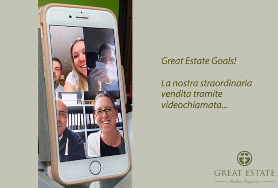Video chiamata vincente: Great Estate vende un casale con Facetime