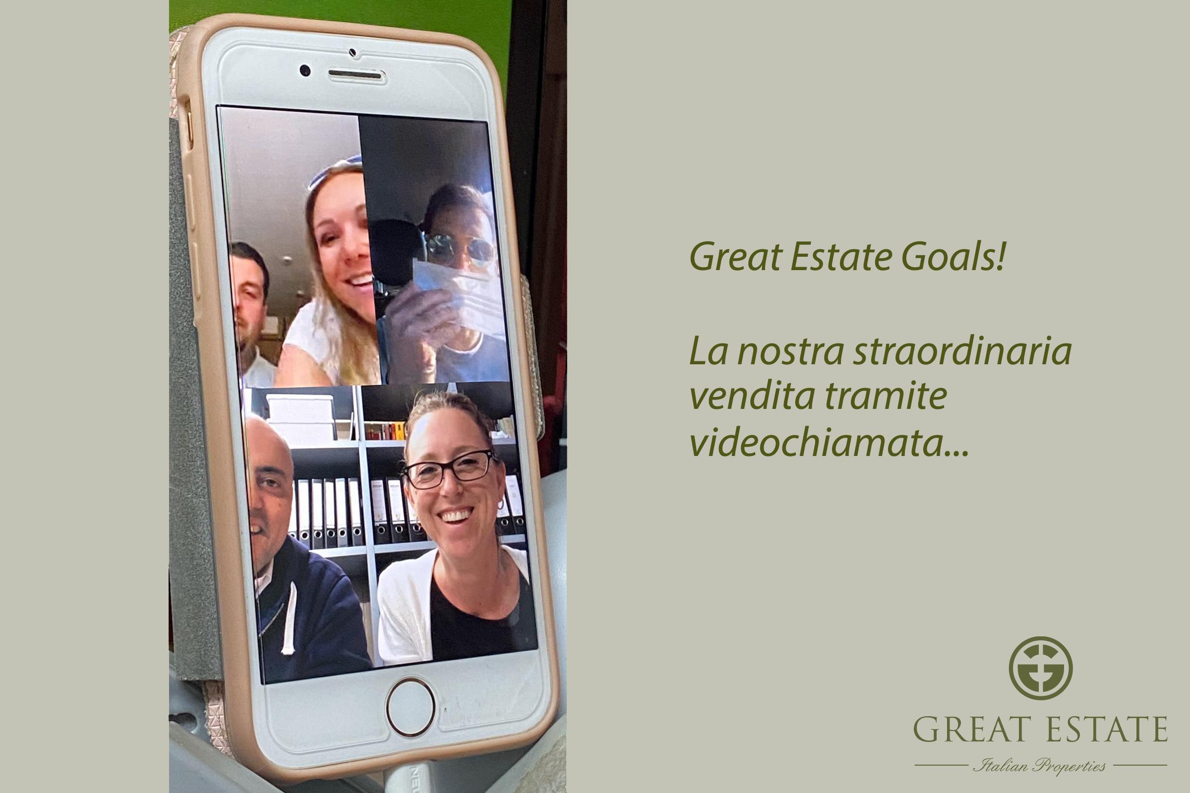 Video chiamata vincente: Great Estate vende un casale con Facetime