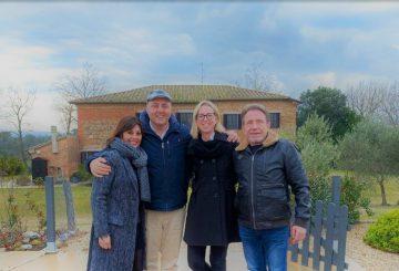 Риккардо Лукулли и Надя Арон: Сабина и Уве стали настоящими друзьями.