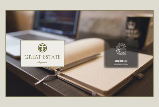 Engine Lab о появлении и развитии нового журнала Great Estate – важного средства коммуникации.