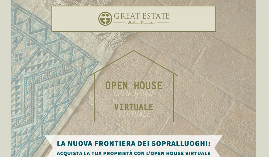 """The new frontier of the property visits: purchase your dream home with the """"Virtual Open House"""" of GE"""