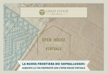 """La nuova frontiera dei sopralluoghi: acquista la tua proprietà con l'""""Open House Virtuale"""" di GE"""