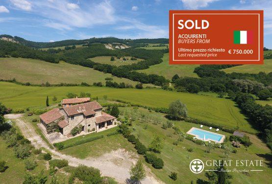 "Продажи Great Estate в конце года: ""Podere Casetta"""
