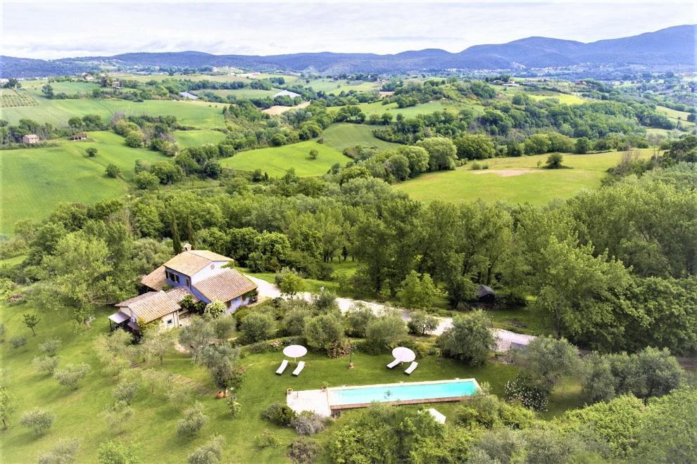 podere monteverde, otricoli, umbria, vendita great estate, dicembre 2020