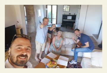 """Adrian and Gillian: """"Alberto, Jacopo, and the Great Estate Network are surely the best""""!"""