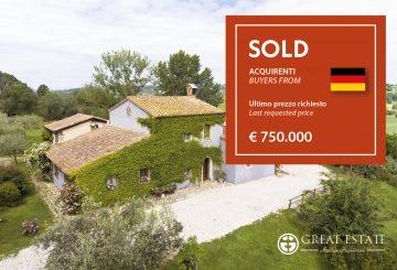 "Декабрь 2020 года: Great Estate завершает год продажей ""Podere Monteverde"""