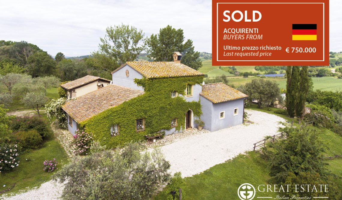 """December 2020: Great Estate closes its year with the sale of """"Podere Monteverde"""""""