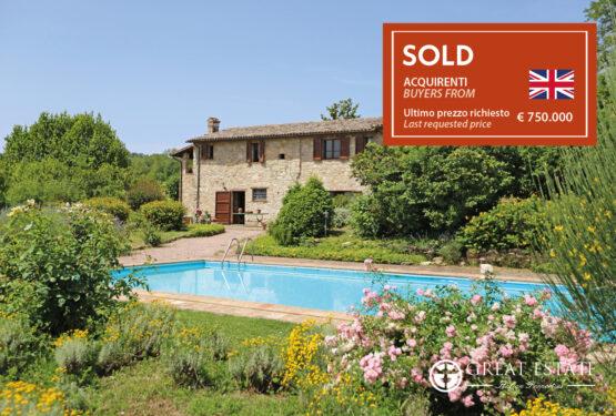 """Great Estate, once again the winner in Umbria: """"La Vista Su Todi e Montecastello"""""""