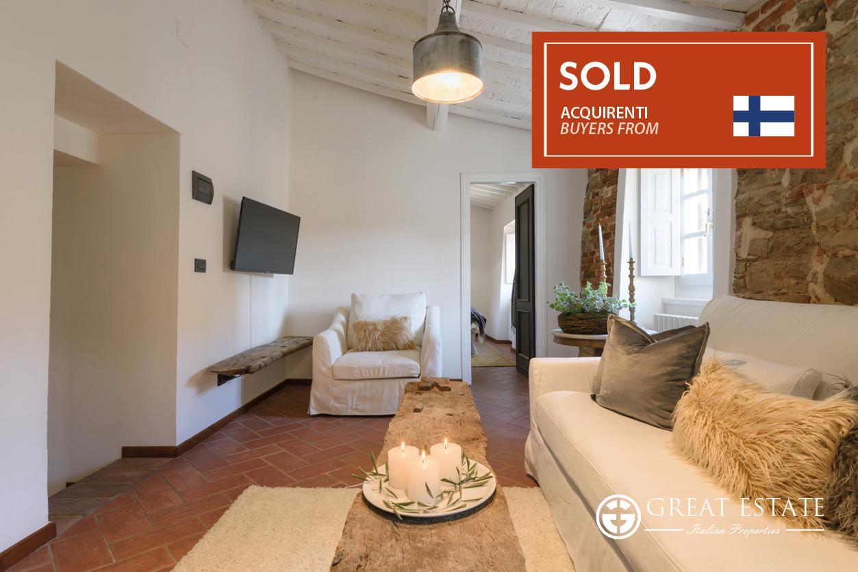"""La Casa Del Cocchiere""- первая успешная продажа partnership Great Estate&Alunno Immobiliare"