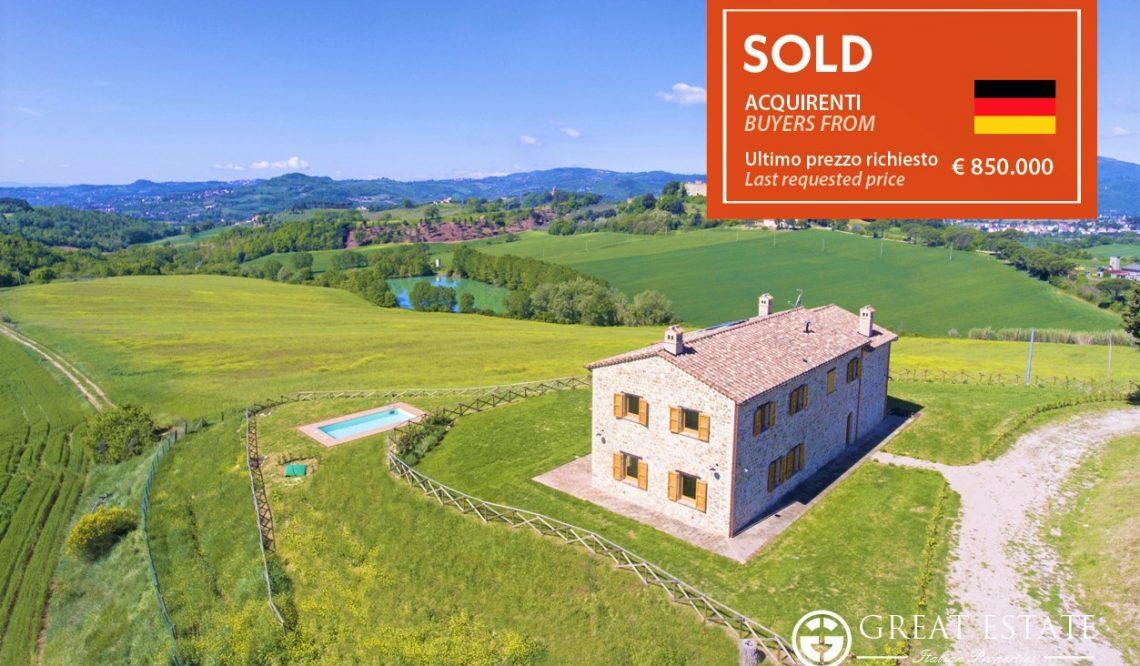 """Great Estate + Via Dei Colli = Продажа особняка """"Il Perugino"""""""