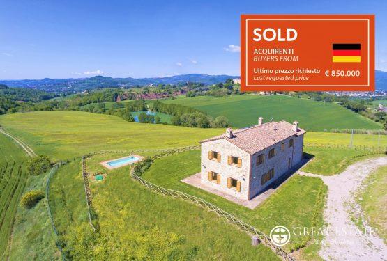 """Great Estate + Via Dei Colli = La vendita di casale """"Il Perugino"""""""