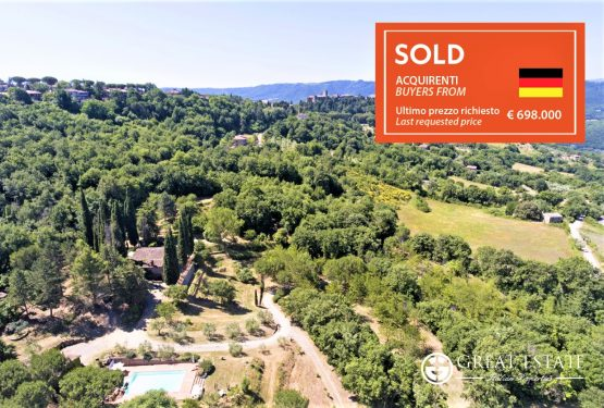 """""""Tramonto A Parrano"""": a sale that confirms the vigorous organisation of Great Estate"""