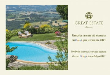 """Umbria: the most """"searched"""" region in Italy on Google and … not only!"""