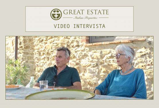 """Giampaolo, Sylvia and the sale of """"L'Antica Pietra: the video interview by G.E."""