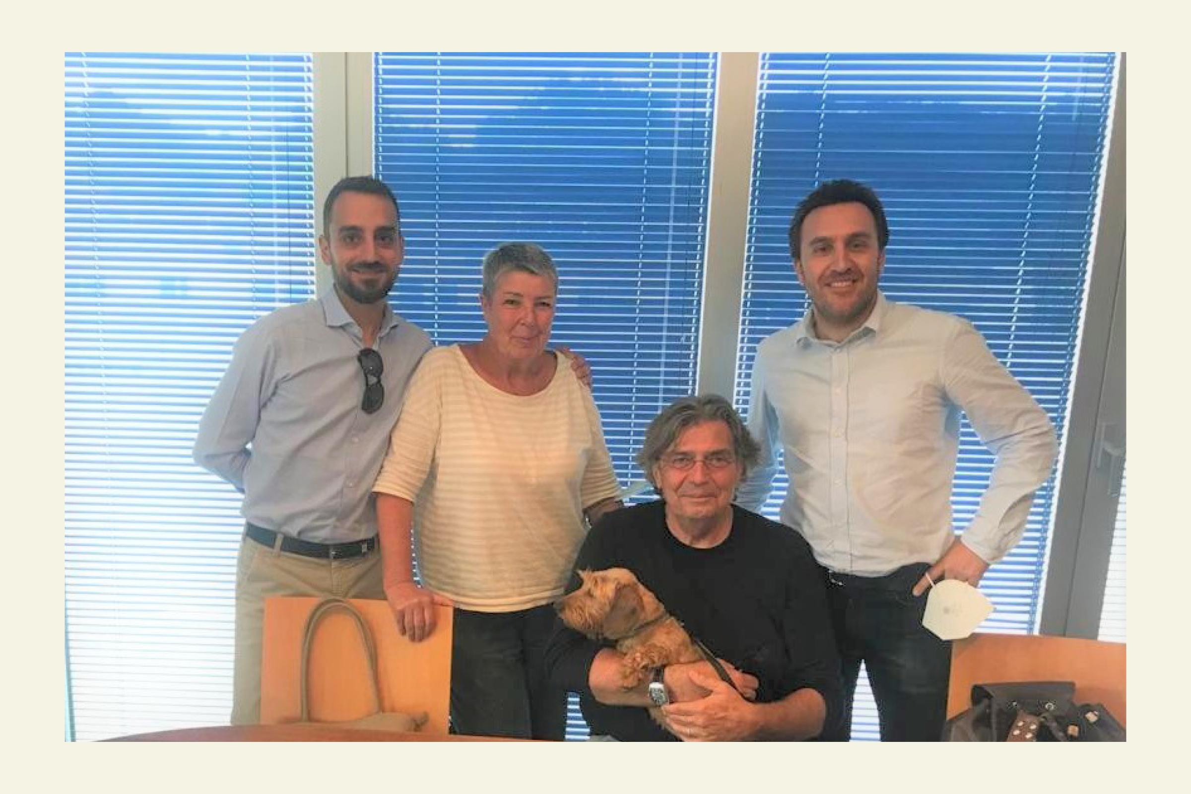 Roberto Biggera and the sale of 'Podere Poggio Agli Incisi': a dip into the past!