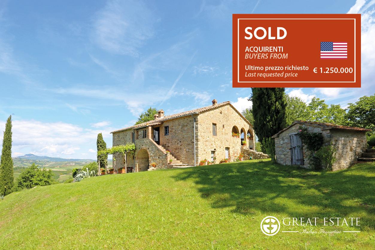 """The sale of """"La Vista Sulla Val D'Orcia"""": The Story of a Dream Come True"""