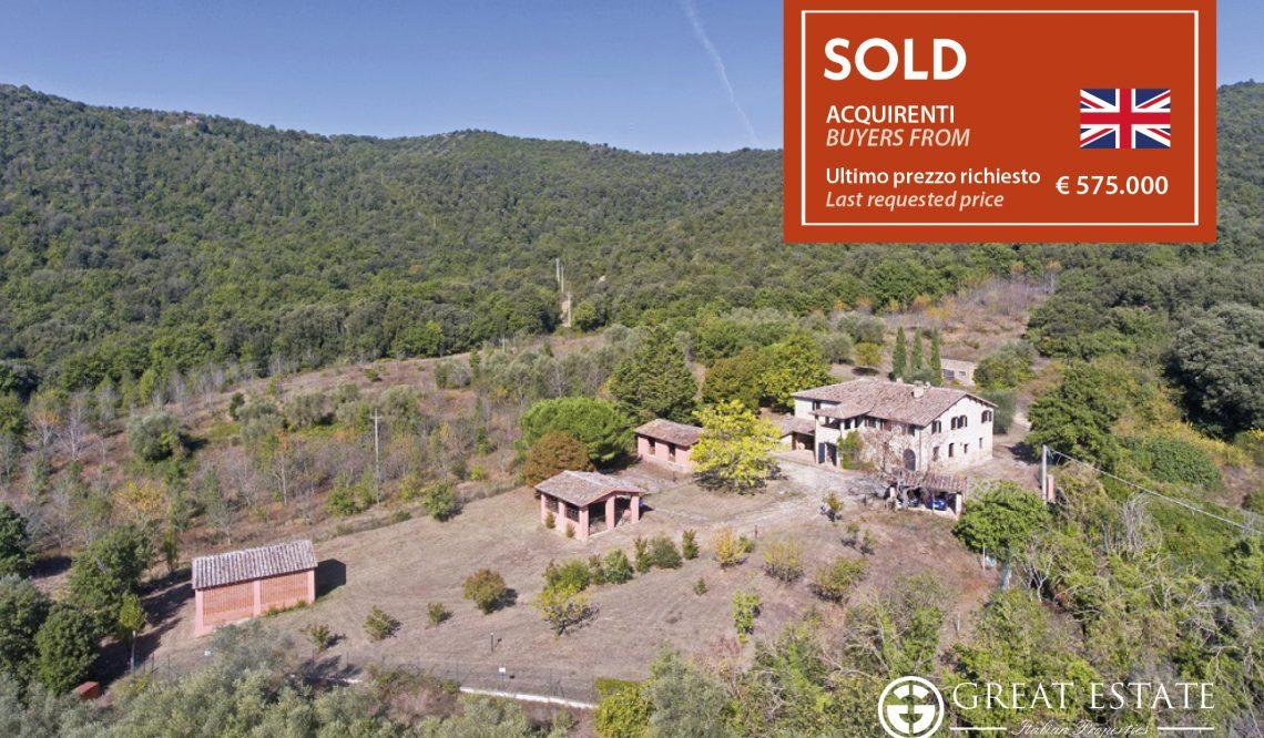 """Trasimeno e dintorni: Great Estate vende """"Podere Montelino"""""""