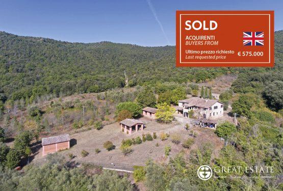 Trasimeno and surroundings: Great Estate sells Podere Montelino