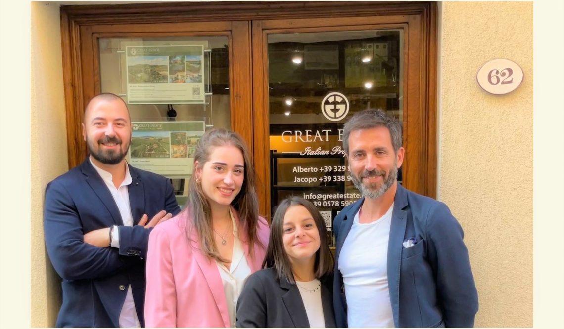 Сеть Great Estate: открытие в октябре нового офиса в Монтепульчано