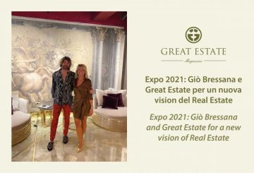 Expo 2021: Gio Bressana and Great Estate for a new vision of Real Estate